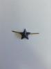 Звезда на погоны мет. 13 мм черн.