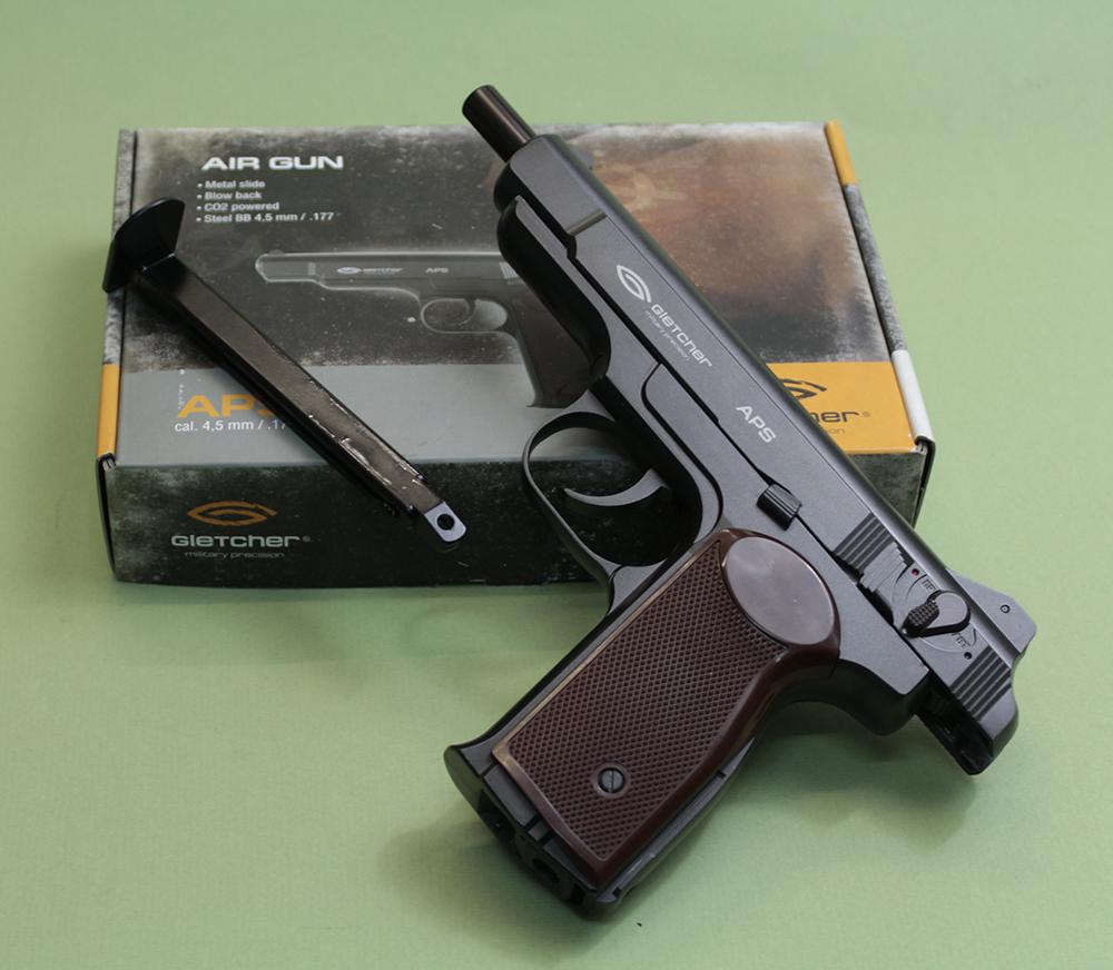 пневматический пистолет gletcher апс инструкция