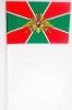 Флажок махат. (15х25 см) Погранвойска