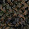 Сеть маскировочная Пейзаж «Лес 3D» (зеленый, коричневый) (2,4*1,5 м) ПЛ-1