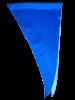 Платок шейный женский Юстиция синий