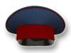 Фуражка простая ФСИН серо-синяя с краповым кантом