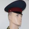 Фуражка с высокой тульей ФСИН серо-синяя с краповым кантом