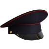 Фуражка простая Полиция темно-синяя с красн. кантом