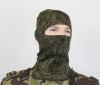 Маска вязанная п/ш (прорезь для глаз, без рта) «русская цифра»
