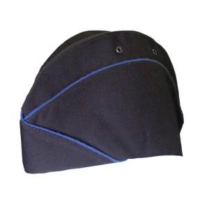 В нашем магазине 1-й Военторг Вы можете приобрести товар: Пилотка Юстиции женская темно-синяя с синим кантом (ткань габардин)