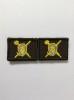 Нашивки вышит. Военная полиция (нов/обр, цвет.) петличные эмблемы на липучке
