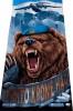 """Приобретайте в нашем магазине: Полотенце махрово-велюровое ВДВ """"Никто кроме нас"""" (медведь) (75 х 150 см)"""