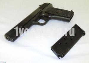Пистолет ТТ (ПОД  ХОЛОСТОЙ ПАТРОН) ТТ-СХ