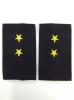 Ф/пог. Полиция темно-синие (ткань п/э) вышит. желт. (прапорщик)