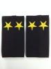 Ф/пог. Полиция темно-синие (ткань п/э) вышит. желт. (подполковник)