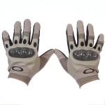 Перчатки тактич. Oakley с кевларом и защ. накладками (серые)