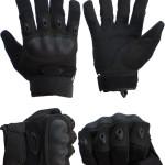 Перчатки тактич. Oakley с кевларом и защ. накладками (черные)